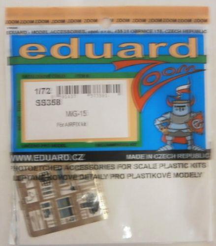 EDUARD 1/72 SS358 MIG-15  FOR AIRFIX KIT