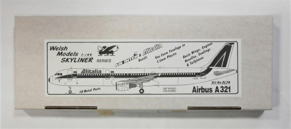 WELSH MODELS 1/144 SL74 AIRBUS A321