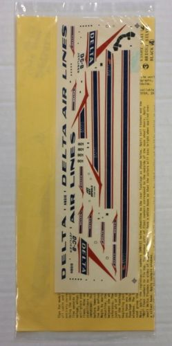 1/144 1570. JET SET DECALS SD-114 DELTA DC8