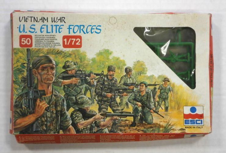ESCI 1/72 228 U.S. ELITE FORCES VIETNAM WAR