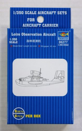 TRUMPETER 1/350 06277 LOIRE OBSERVATION AIRCRAFT