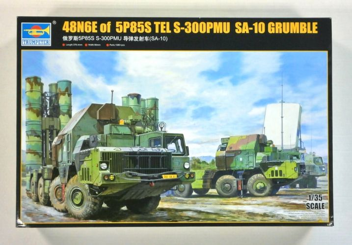 TRUMPETER 1/35 01038 48N6E of 5P85S TEL S-300PMUSA-10 GRUMBLE