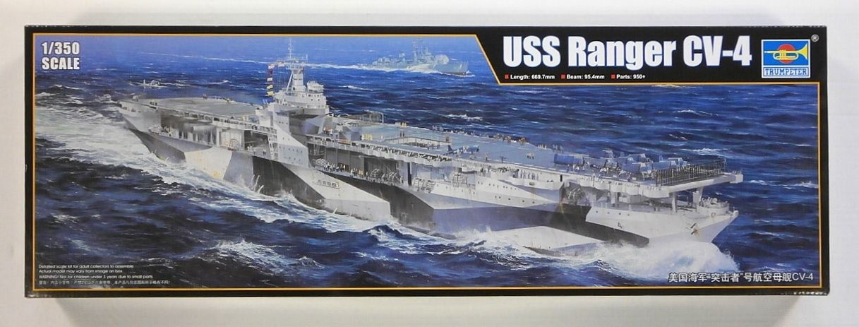TRUMPETER 1/350 05629 USS RANGER CV-4  UK SALE ONLY