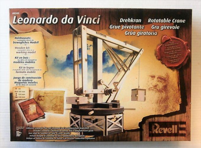REVELL 1/15 00505 LEONARDO DA VINCI ROTATABLE CRANE