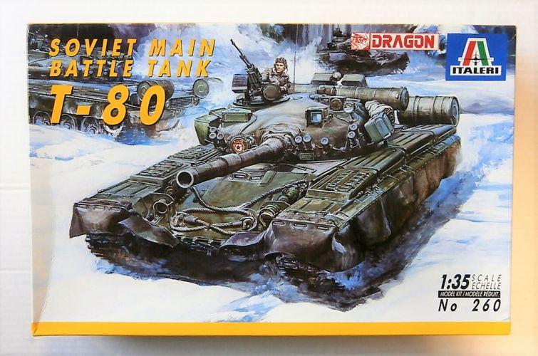 ITALERI 1/35 260 T-80 SOVIET MBT