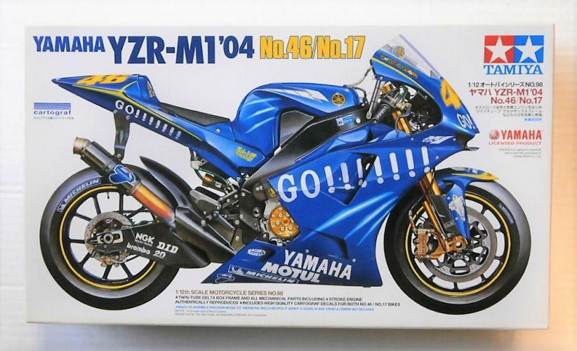 TAMIYA  14098 YAMAHA YZR-M1 2004 NO.46/NO.17