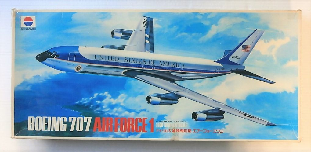 NITTO 1/100 571 BOEING 707 AIR FORCE 1