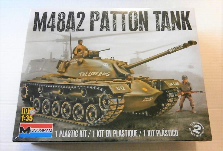 MONOGRAM 1/35 7853 M48A2 PATTON TANK