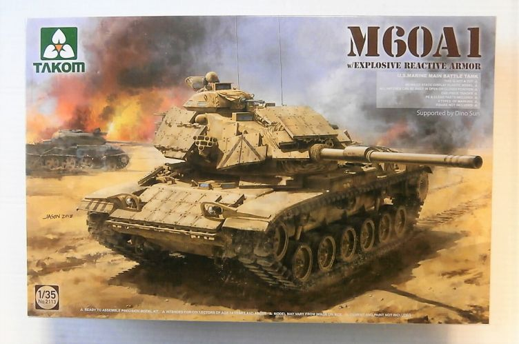 TAKOM 1/35 2113 M60A1 WITH EXPLOSIVE REACTIVE ARMOUR
