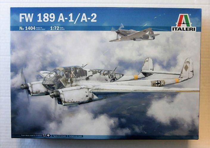 ITALERI 1/72 1404 FW 189 A-1/ A-2