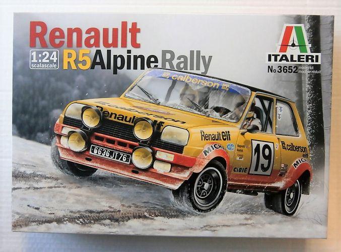 ITALERI 1/24 3652 RENAULT R5 ALPINE RALLY
