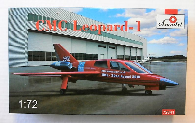 A MODEL 1/72 72341 CMC LEOPARD-1