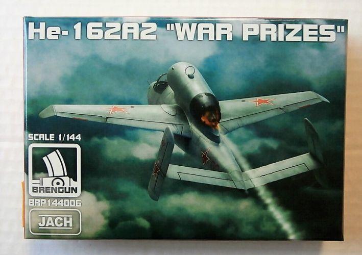 BRENGUN 1144 144006 HEINKEL He-162A  WAR PRIZES