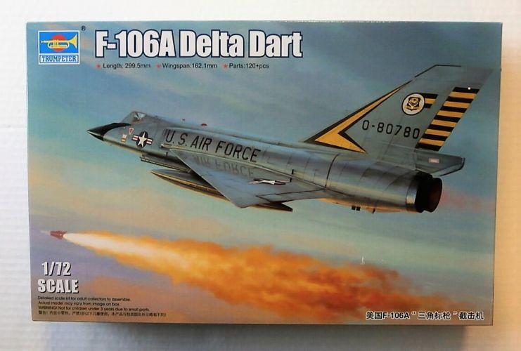 TRUMPETER 1/72 01682 F-106A DELTA DART