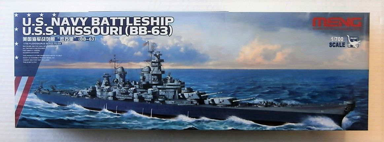 MENG 1/700 PS-004 U.S.S.MISSOURI  BB-63
