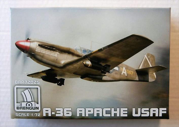 BRENGUN 1/72 72025 A-36 APACHE USAF MARKINGS