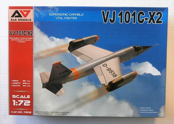 A   A MODELS 1/72 7202 VJ 101C-X2