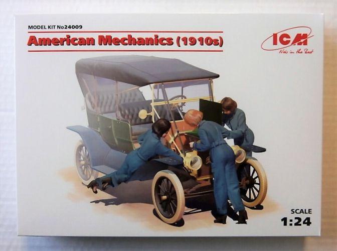 ICM 1/24 24009 AMERICAN MECHANICS 1910s