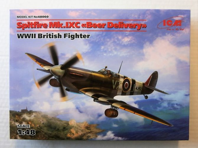 ICM 1/48 48060 SPITFIRE MK IXC BEER DELIVERY WWII BRITISH FIGHTER