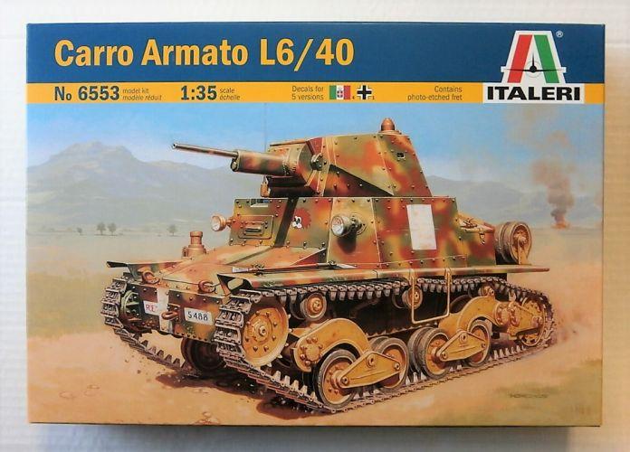 ITALERI 1/35 6553 CARRO ARMATO L6/40