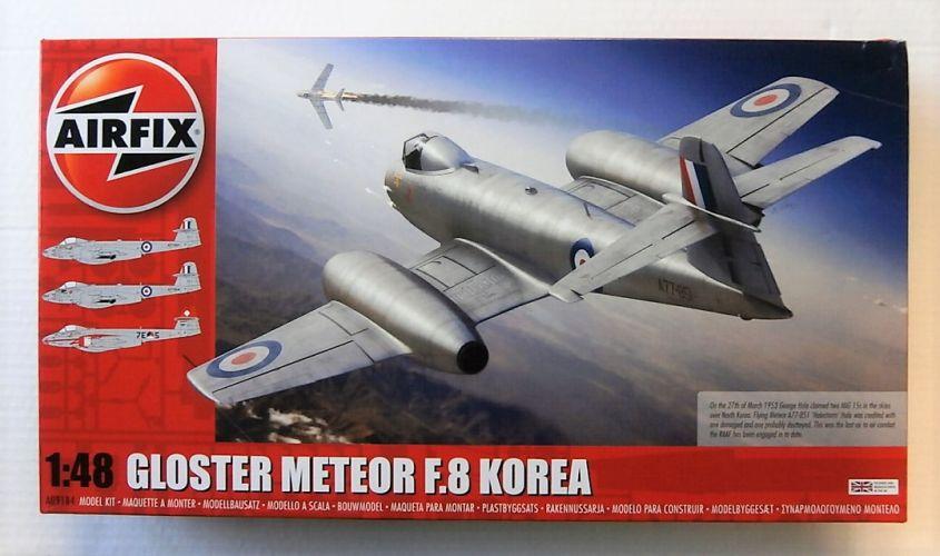 AIRFIX 1/48 09184 GLOSTER METEOR F.8 KOREA
