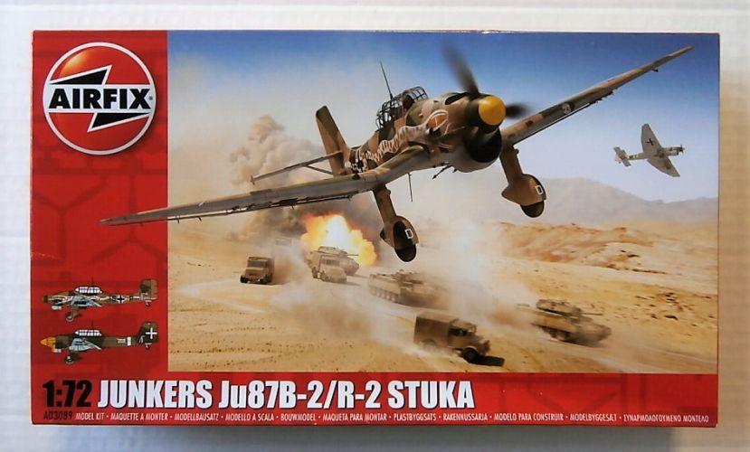 AIRFIX 1/72 A03089 JUNKERS Ju87B-2/R-2 STUKA