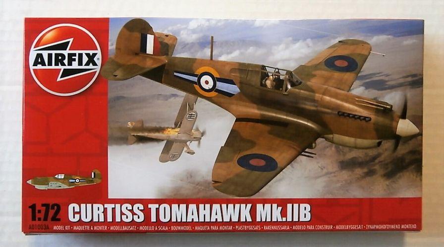 AIRFIX 1/72 A01003A CURTISS TOMAHAWK Mk.IIB