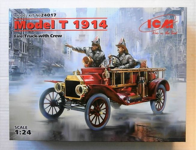 ICM 1/24 24017 MODEL T 1914 FIRE TRUCK WITH CREW