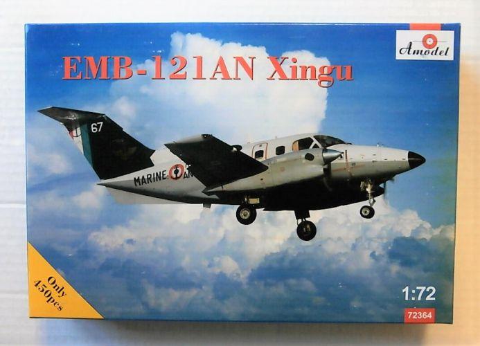 A MODEL 1/72 72364 EMBRAER EMB-121AN XINGU