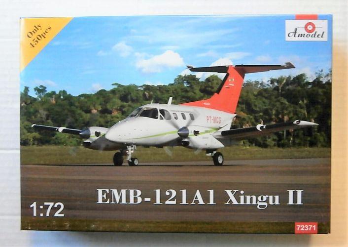 A MODEL 1/72 72371 EMBRAER EMB-121A1 XINGU II