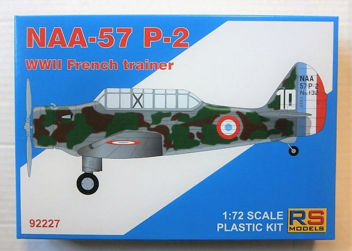 RS MODELS 1/72 92227 NAA-57 P-2 WWII FRENCH TRAINER