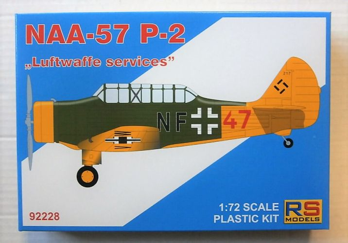 RS MODELS 1/72 92228 NAA-57 P-2 LUFTWAFFE SERVICES