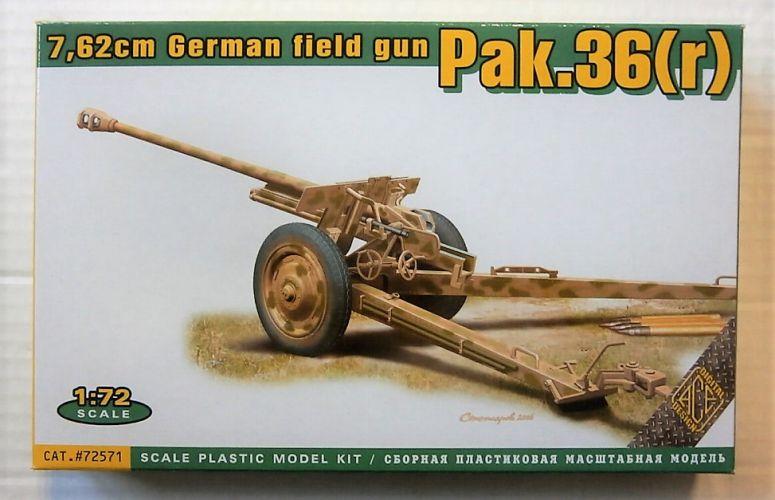 ACE 1/72 72571 7.62cm GERMAN FIELD GUN PAK.36 R