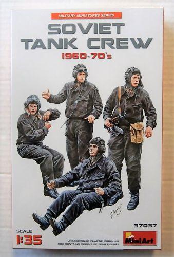 MINIART 1/35 37037 SOVIET TANK CREW 1960-70s