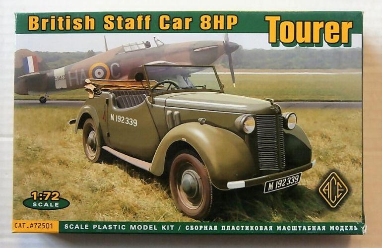 ACE 1/72 72501 BRITISH STAFF CAR 8HP TOURER