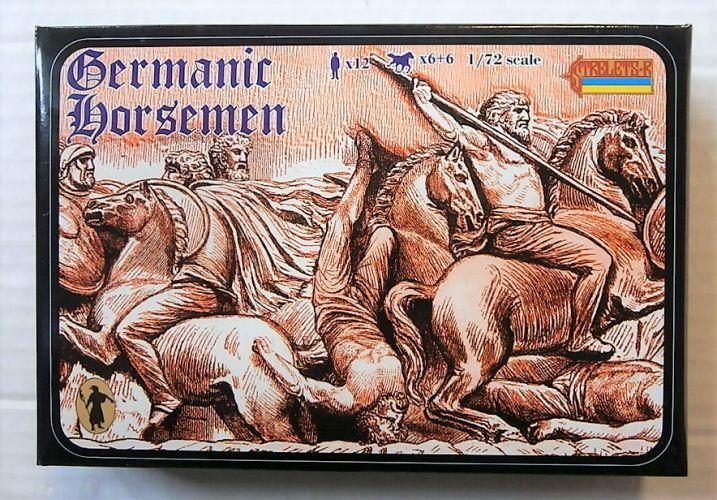 STRELETS 1/72 098 GERMANIC HORSEMEN