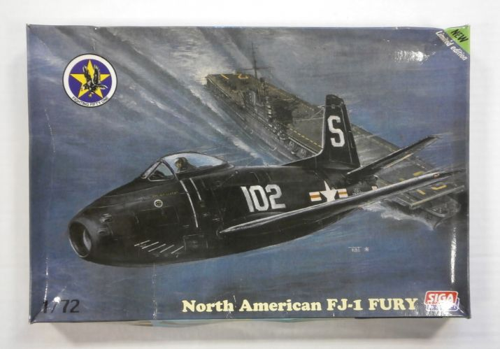 SIGA 1/72 SI1 NORTH AMERICAN FJ-1 FURY
