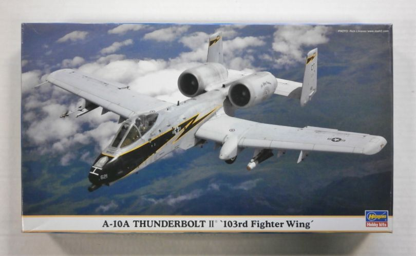 HASEGAWA 1/72 00922 A-10A THUNDERBOLT II 103rd FIGHTER WING