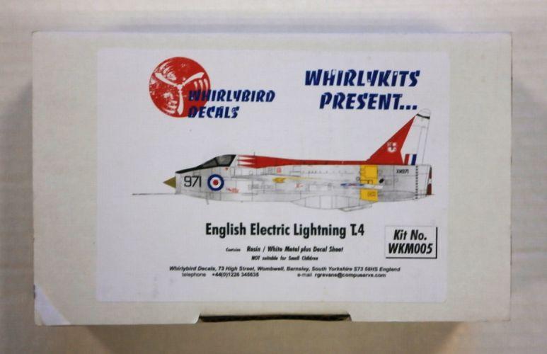 WHIRLYBIRD  005 ENGLISH ELECTRIC LIGHTNING T.4
