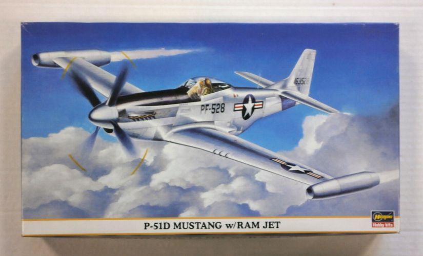 HASEGAWA 1/48 09377 P-51D MUSTANG w/RAM JET
