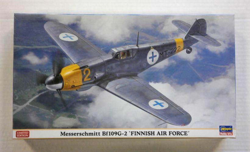 HASEGAWA 1/48 07329 MESSERSCHMITT Bf 109G-2 FINNISH AIR FORCE