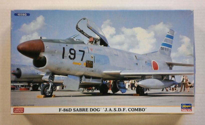 HASEGAWA 1/72 02018 F-86D SABRE DOG J.A.S.D.F. COMBO