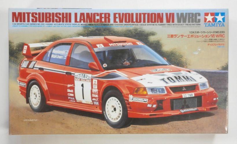 TAMIYA 1/24 24220 MITSUBISHI LANCER EVOLUTION VI WRC