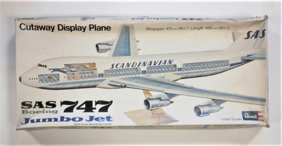 REVELL 1/144 H177 SAS BOEING 747 CUTAWAY
