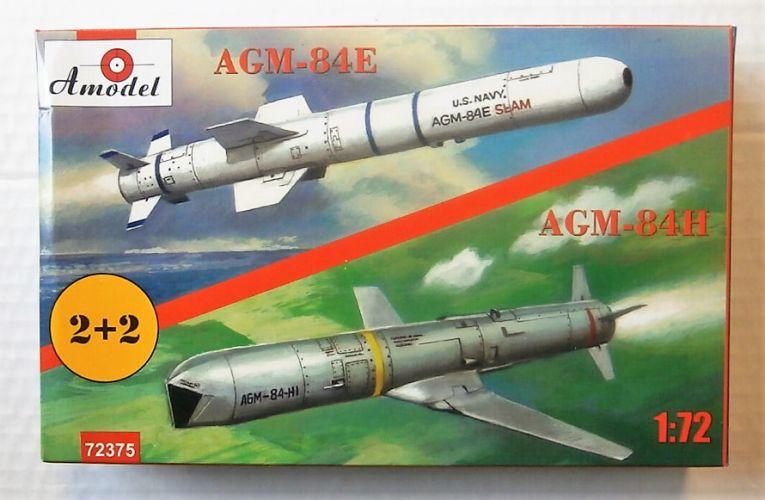 A MODEL 1/72 72375 AGM-84E/H