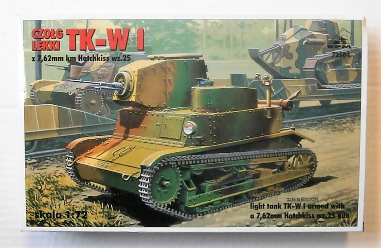 RPM 1/72 72504 LIGHT TANK TK-W I