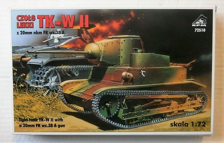 RPM 1/72 72510 LIGHT TANK TK-W II