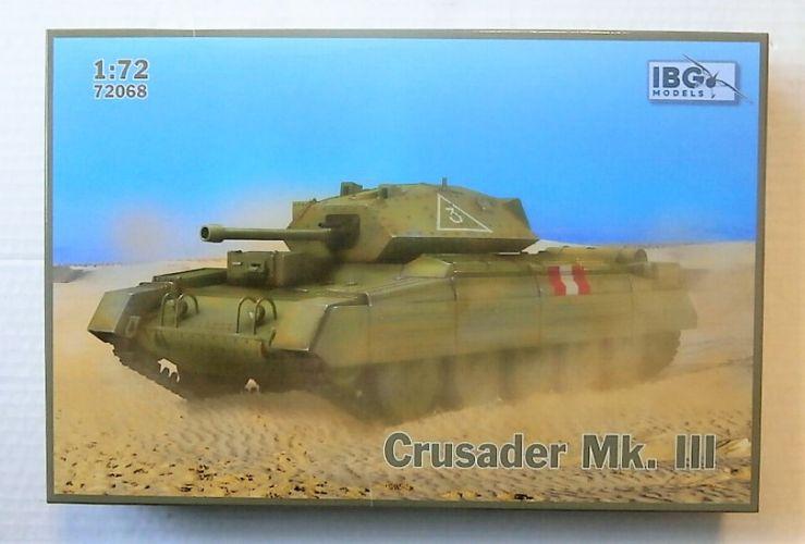 IBG MODELS 1/72 72068 CRUSADER MK.III