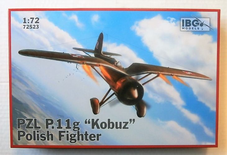 IBG MODELS 1/72 72523 PZL P.11G KOBUZ POLISH FIGHTER