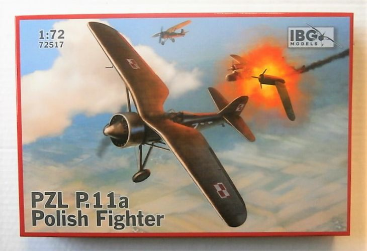 IBG MODELS 1/72 72517 PZL P.11A POLISH FIGHTER
